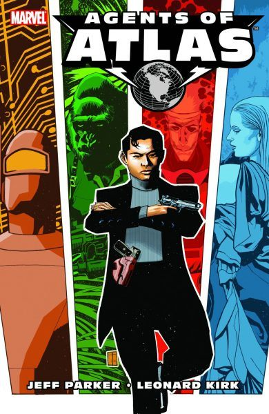 agents of atlas 2006 comic