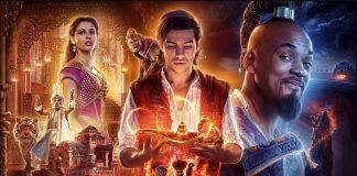 aladdin pushes john wick down at box office avengers 2019