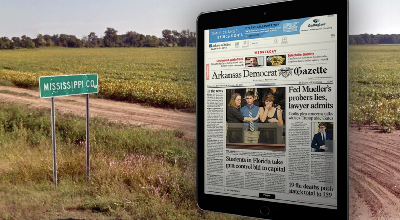 arkansas newspaper drops print for digital in fight to stay alive 2019 images
