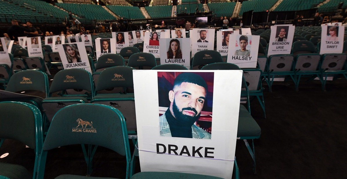 billboard music awards seating charts 2019 drake taylor swift halsey