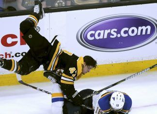 boston bruins taking stanley cup lead over glues 2019 images