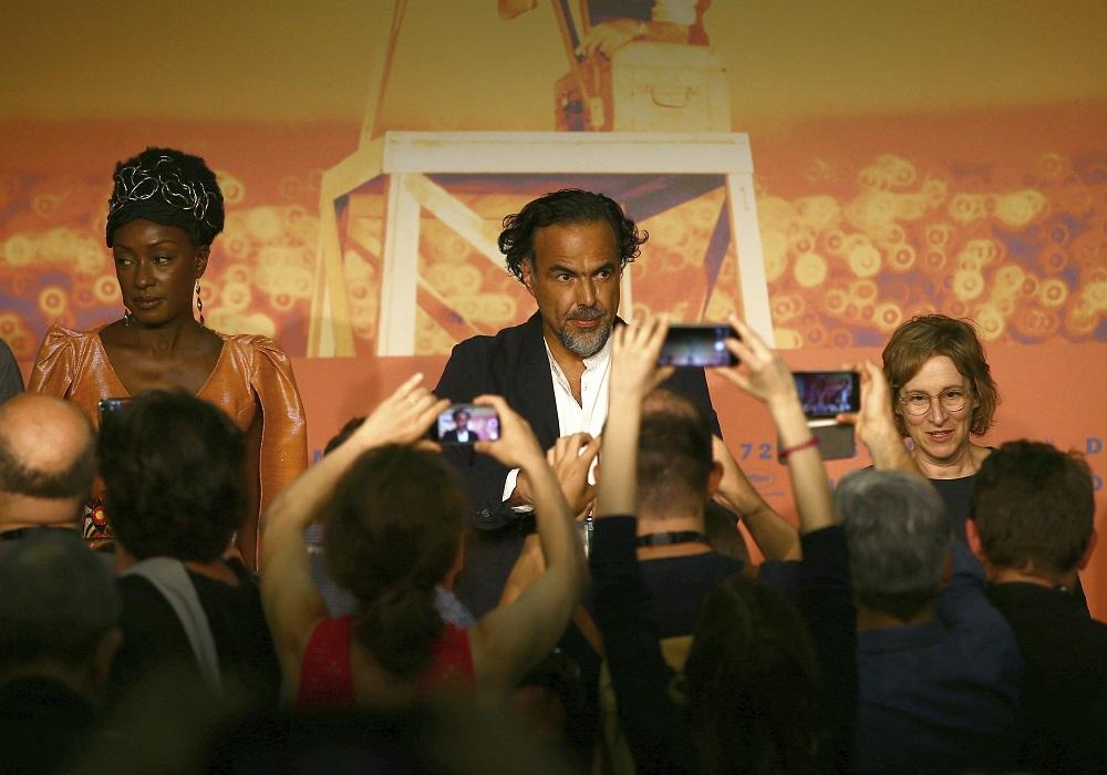 cannes film festival alejandro gonzalex inarritu rails against donald trump wall