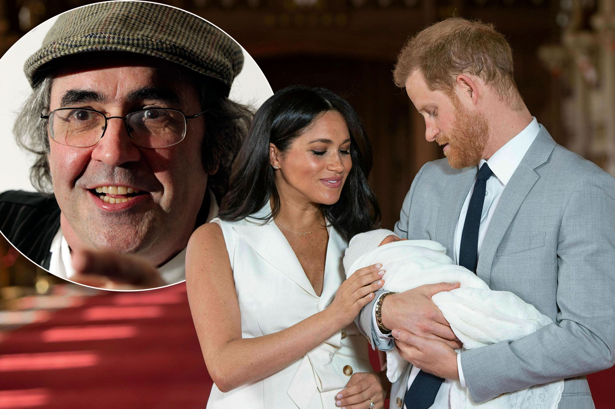 danny baker fired from bbc for prince harry monkey joke