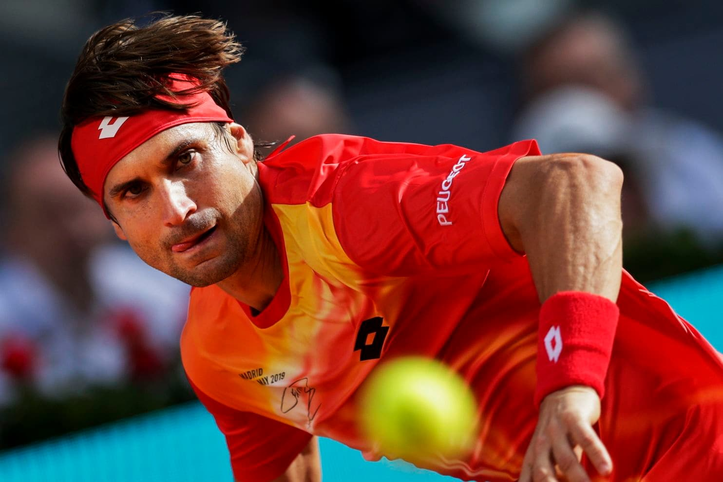 david ferrer retires tennis with loss to alexander zverev at madrid open