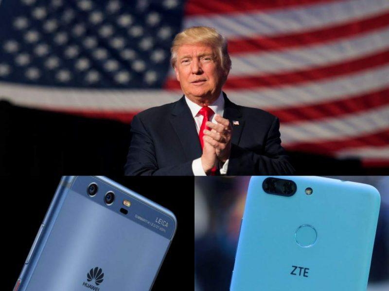 donald trump executive order on huawei tech