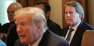 donald trump keeps don mcgahn hidden from house 2019 images