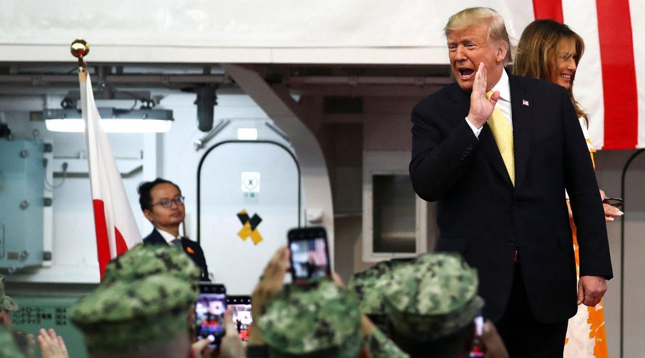 donald trump memorial day japan fact check 2019