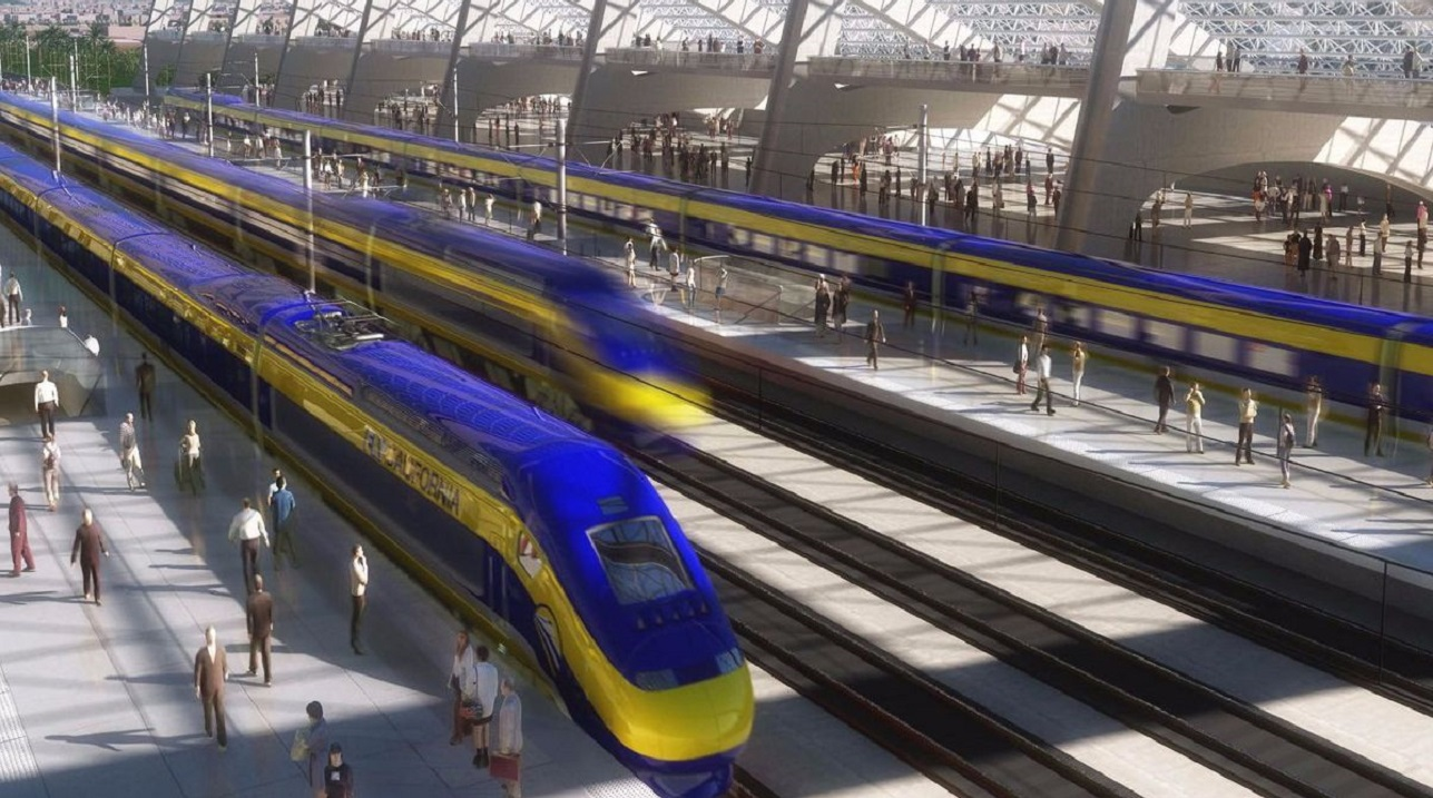 donald trump yanks 1 billion from california troubled high speed light rail 2019 images