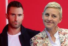 ellen degeneres gives adam levine a voice warning 2019 images