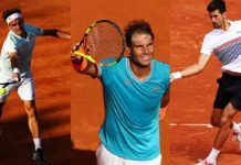 french open 2019 rafael nadal could cross with roger federer with draw tennis images