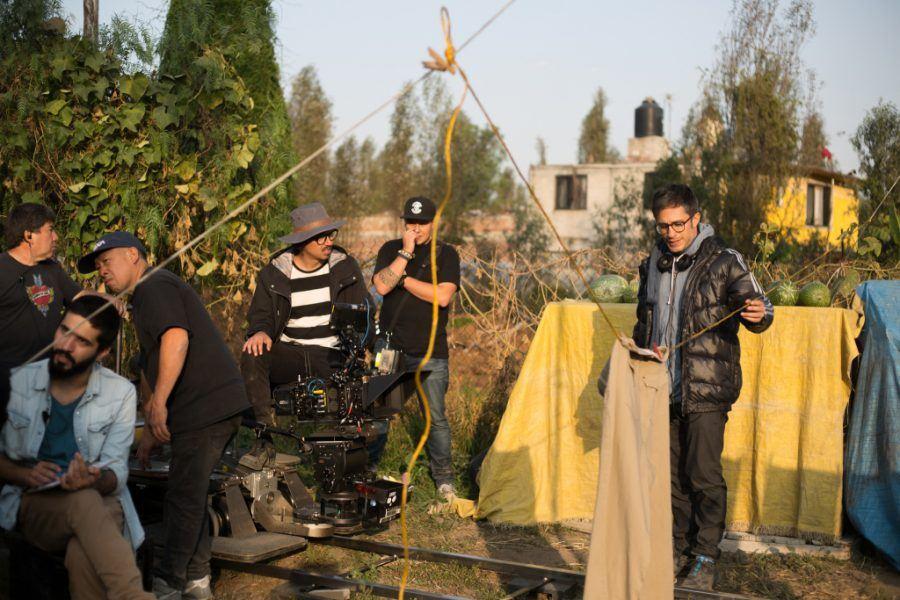 gael garcia bernal directing chicarotes mexico location