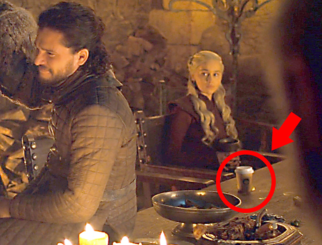 game of thrones coffee cup error