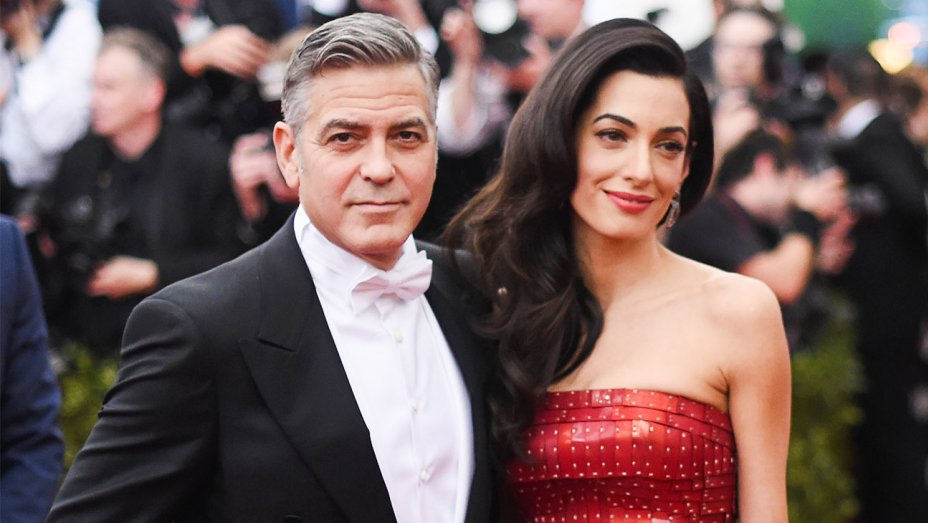 george clooney with wife meghan 2019