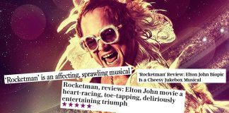 hollywood tests rocketman and taron Egerton vs Rami Malek 2019 images
