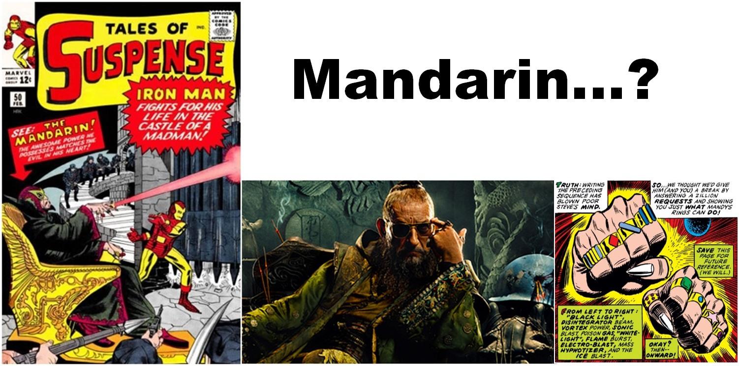 iron man mandarin bringing to mcu world