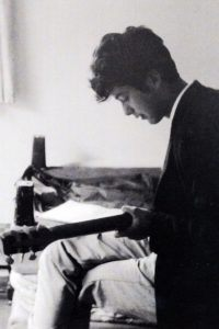 Jimmy Page as a teenager before Led Zeppelin.