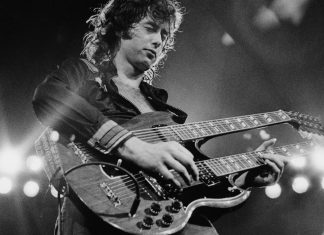 jimmy page playing stairway to heaven led zeppelin images