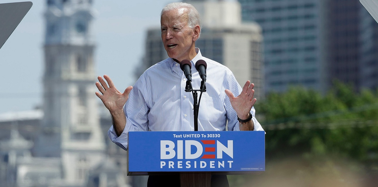 joe biden becomes democratic donation king 2019 images