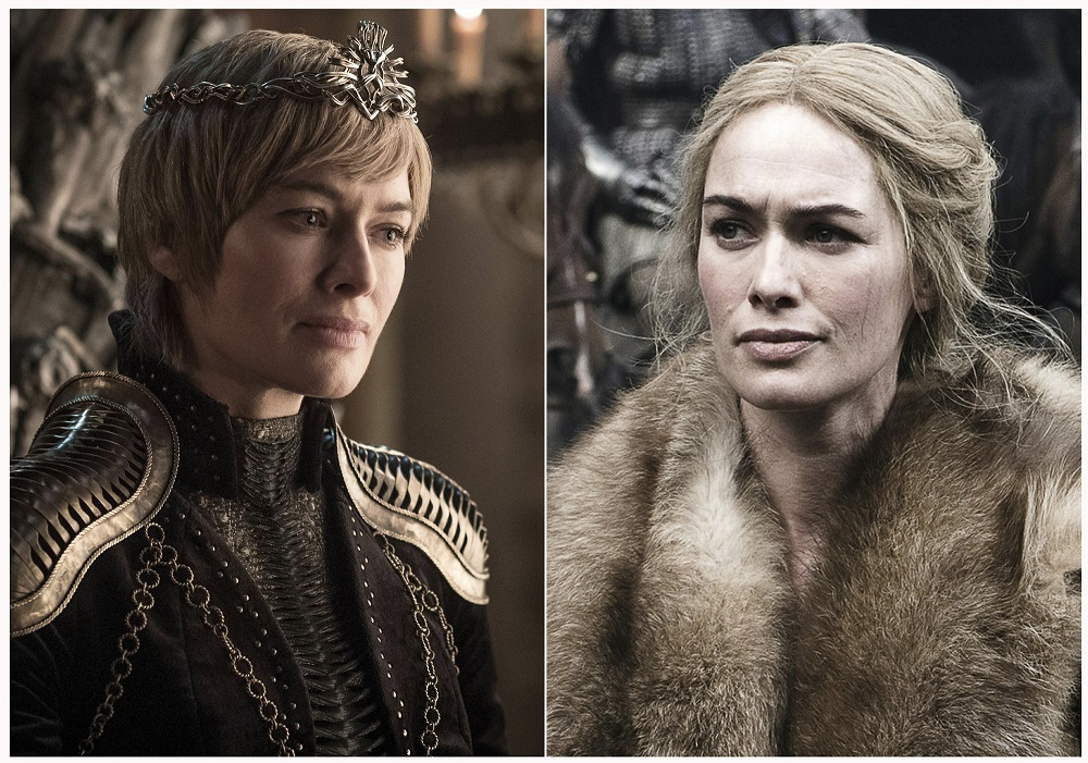 lena headley as cersei lannister in game of thrones before after 2019