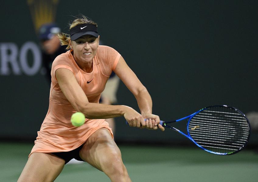 maria sharapova shoulder injury ends grand slam tournament