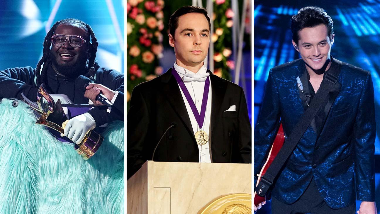 masked singer big bang theory biggest winners american idol loses