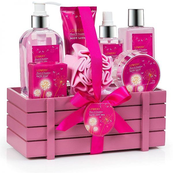 new moms luxury bath body spa set