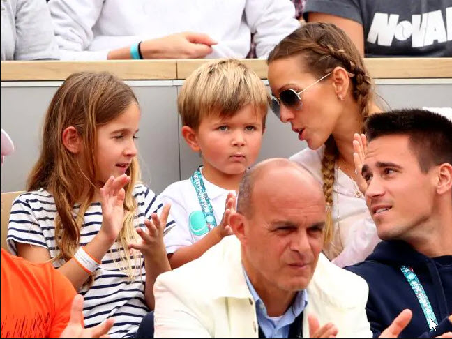 novak djokovic son stefan at french open perfect gentleman 2019