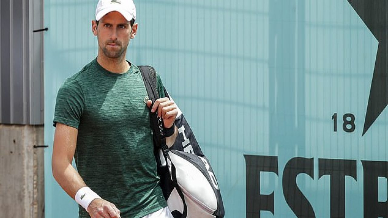 novak djokovic supporting justin gimelsob thiem favoriting rafael nadal madrid 2019
