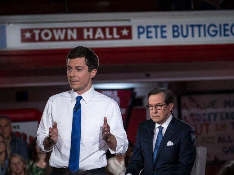 pete buttigieg with chris wallace fox news town hall