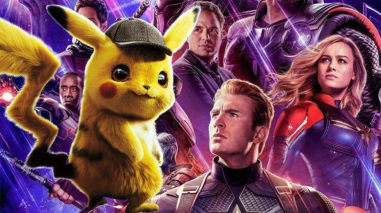 pokemon nearly topples avengers endgame box office for mothers day 2019 images
