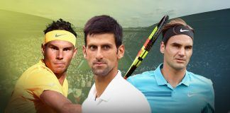 rafael nadal nuts up with novak djokovic and roger federer french open