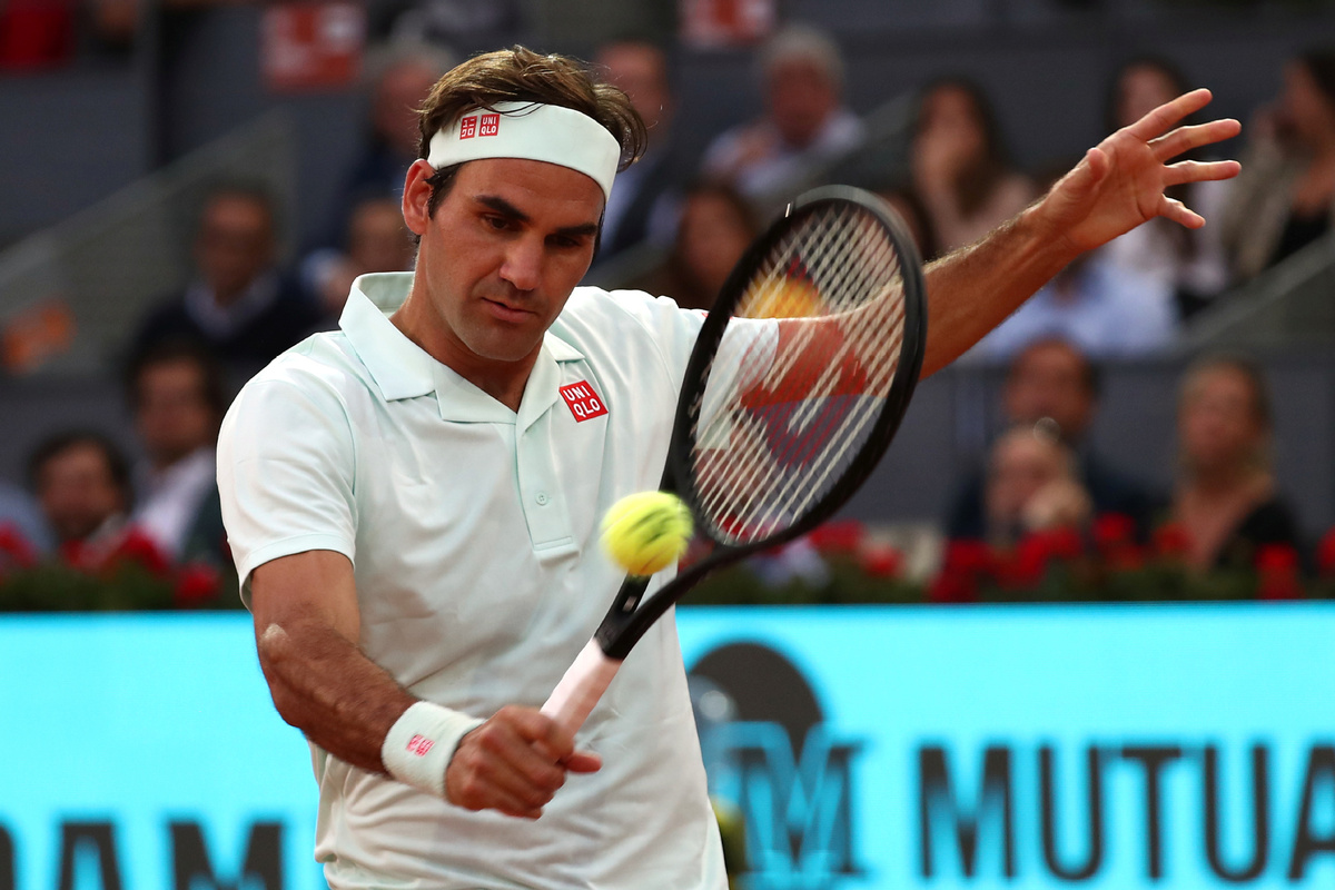 roger federer beats richard gasquet madrid