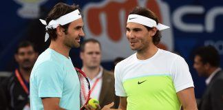 roger federer loses to thiem while rafael nadal moves on at madrid 2019 images