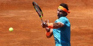 roger federer out of italian open as rafael nadal hits semi finals 2019 images