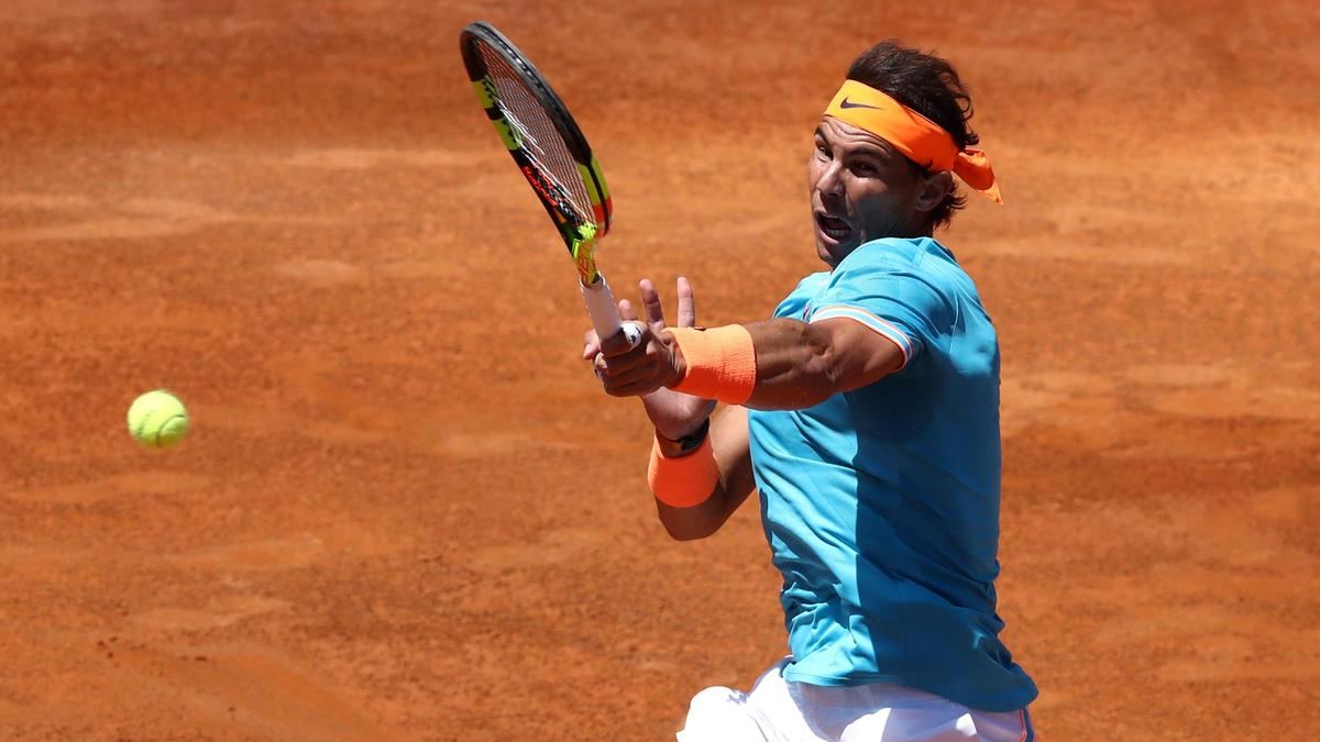 129c0a9f roger federer out of italian open as rafael nadal hits semi finals 2019  images