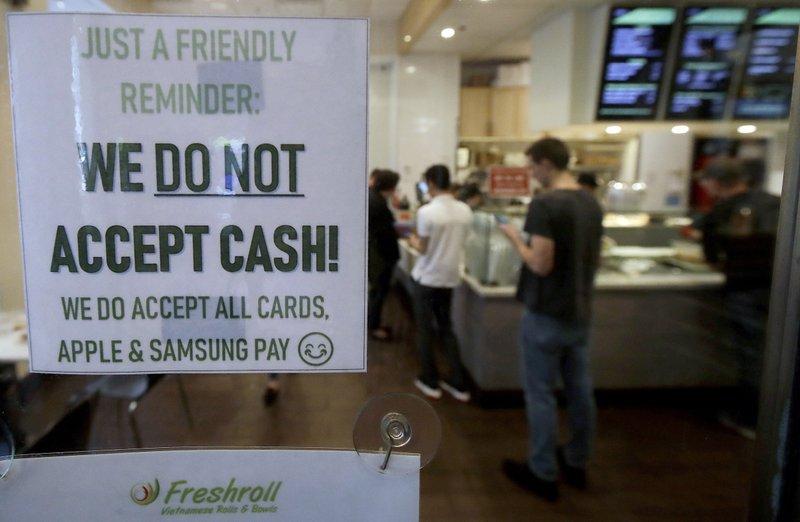 san francisco banning cashless stores 2019