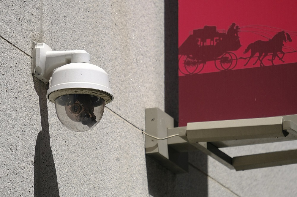 security camera in san franciso with facial recognition technology ban 2019