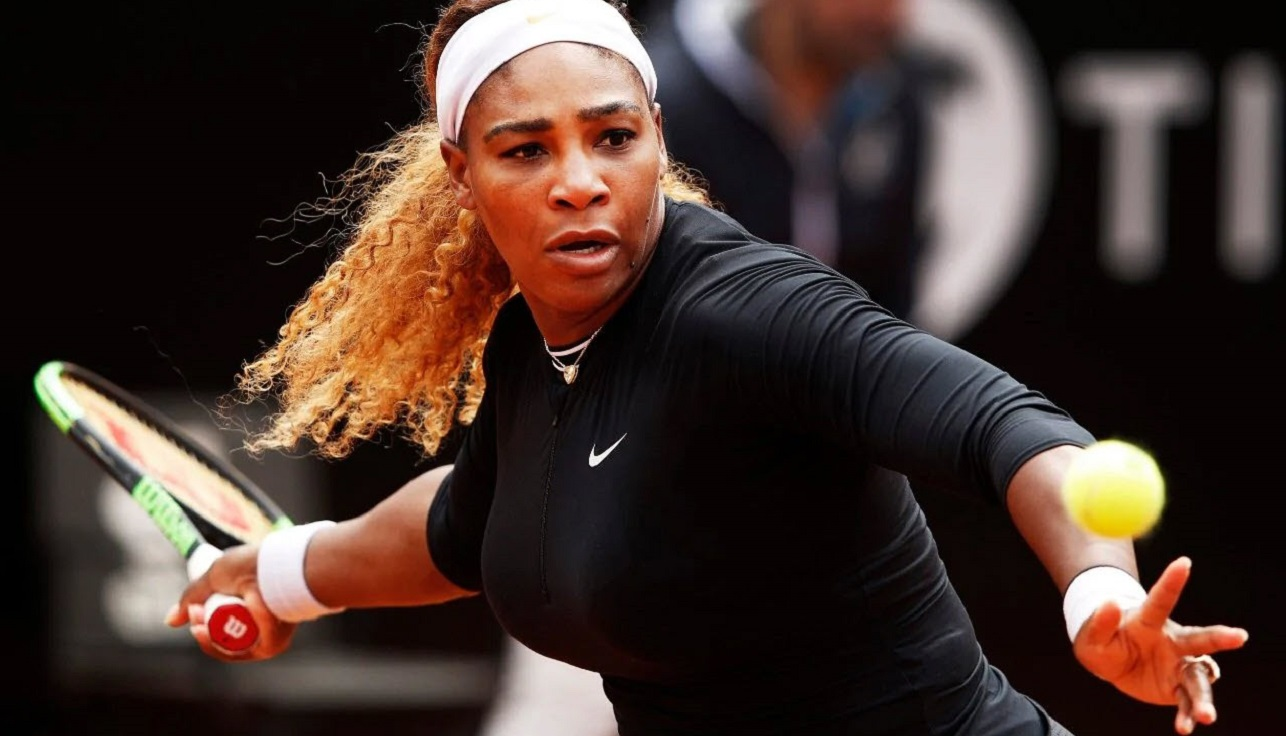 serena williams back at french open 2019 images