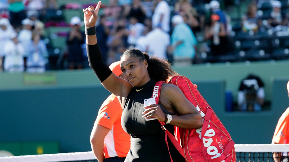 serena williams back to italian open 2019 after injury