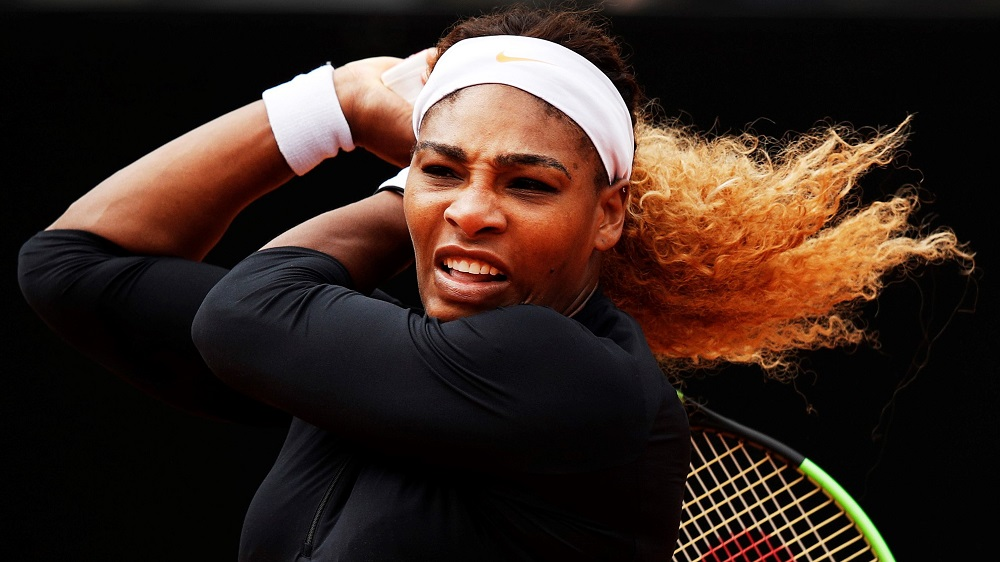 serena williams out of italian open from injury