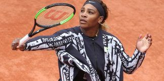 serena williams proves her jacket right at french open 2019 images