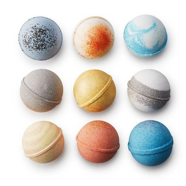solar system bath bombs hot mothers day gift ideas 2019
