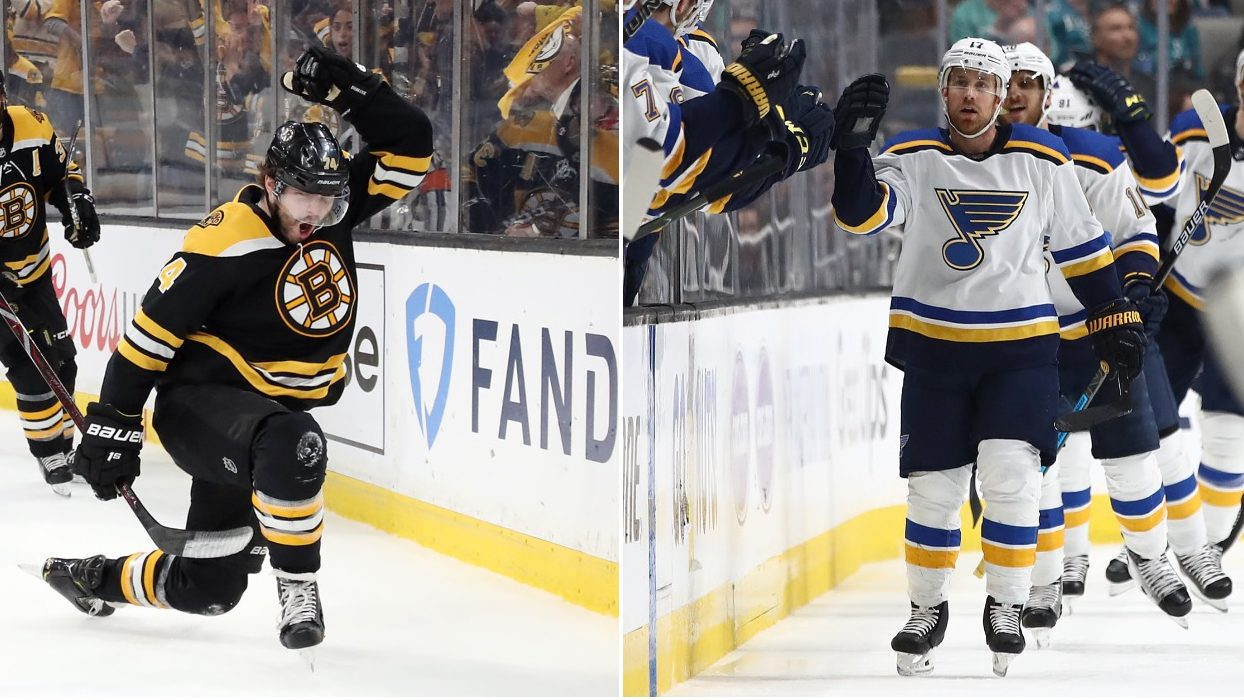 stanley cup bruins vs blues took nearly 50 years 2019 images