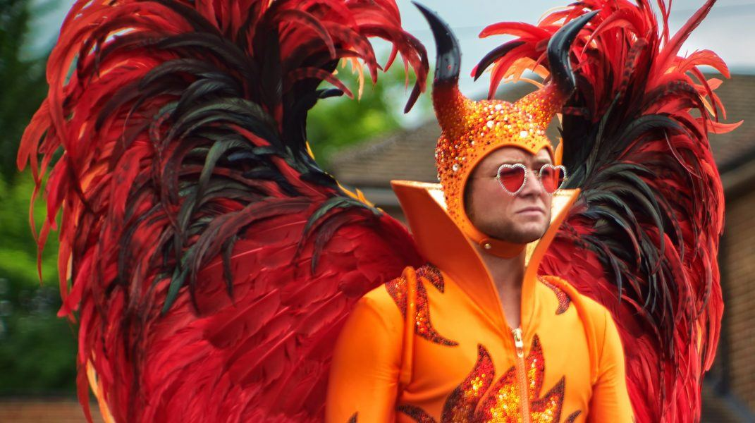 taron egerton in rocketman hit vs bohemian rhapsody