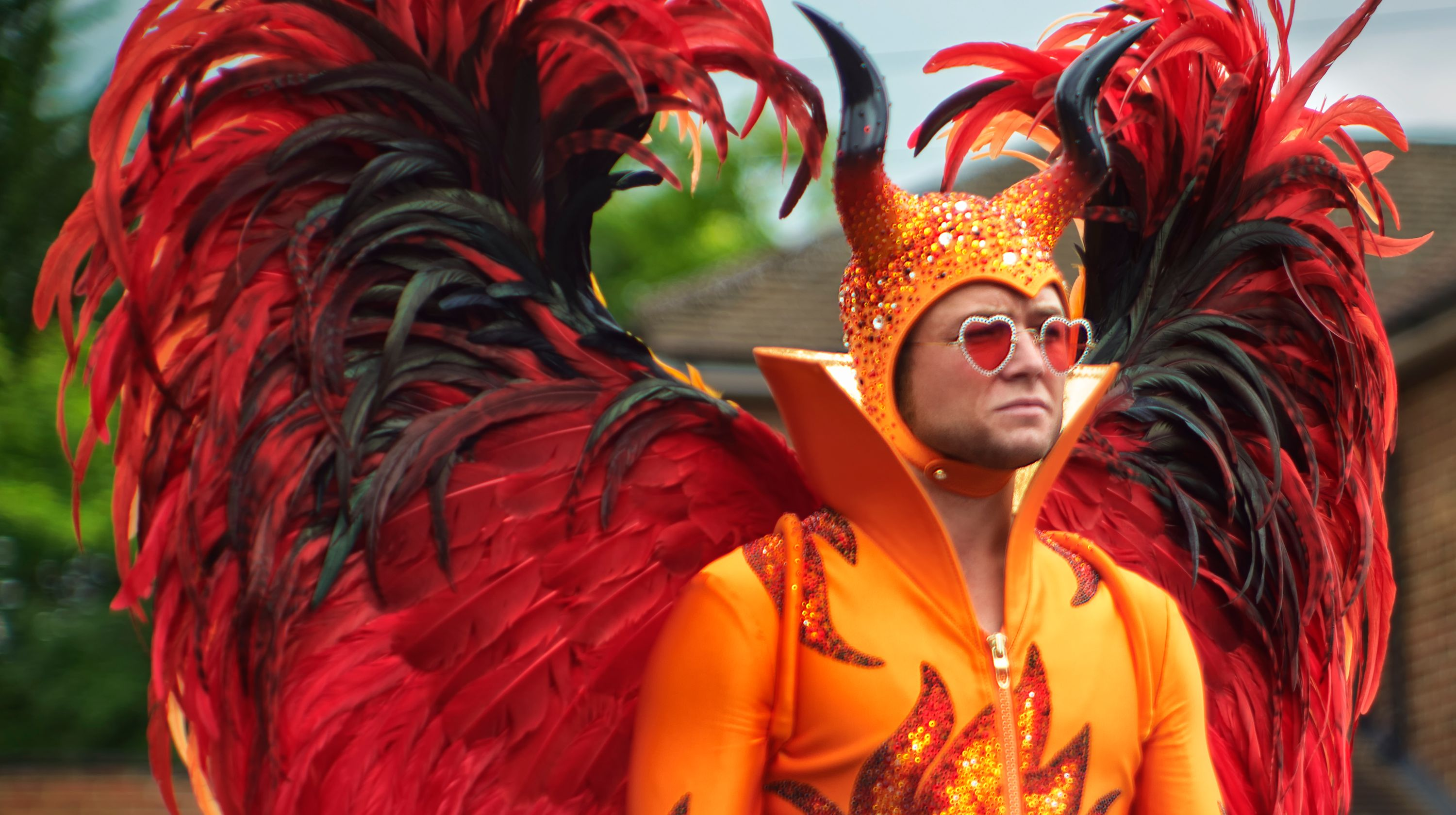 taron egerton in rocketman hit at cannes