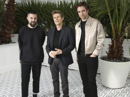 the lighthouse at cannes director robert eggers willem dafoe and robert pattinson