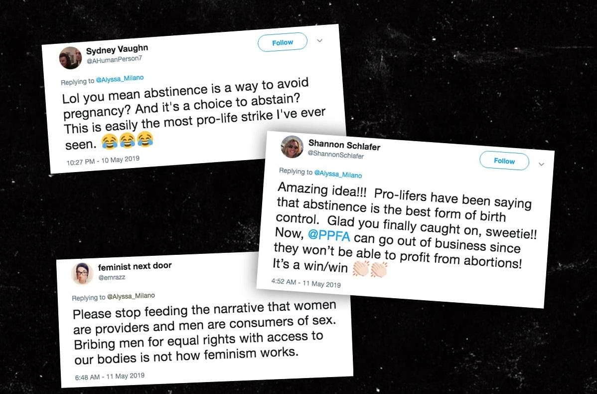 twitter responds to alyssa milano sex strike tweet