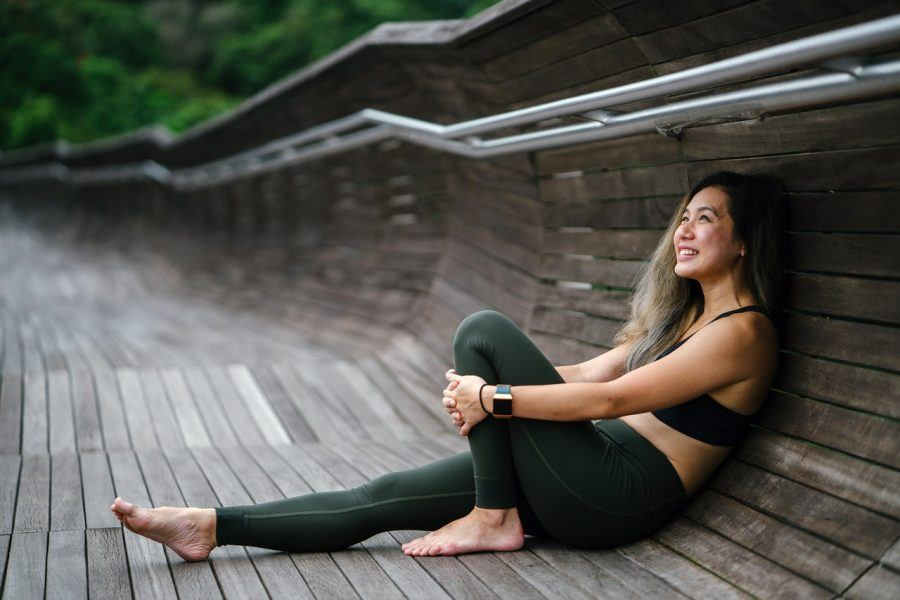 woman relaxing after workout 2019 hottest fitness trends products