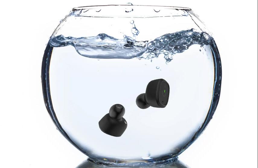 xfyro xs2 waterproof wireless earbunds in tank of water mothers day gifts