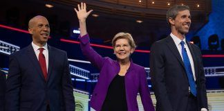 cory booker elizabeth warren beta orourke democratic debate 2019